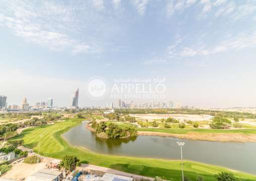 Golf Course View| Brand New|Spacious 3BR